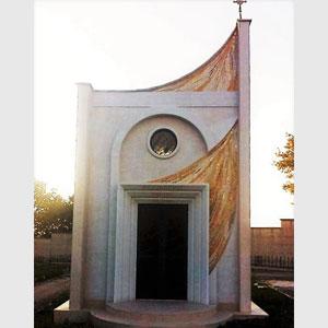 Mosaico Cappella cimitero in Puglia