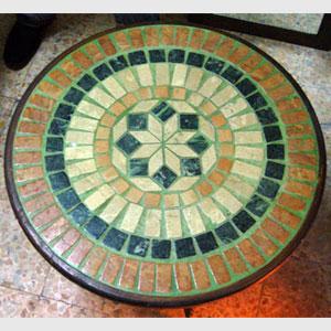 Tavolo mosaico artistico